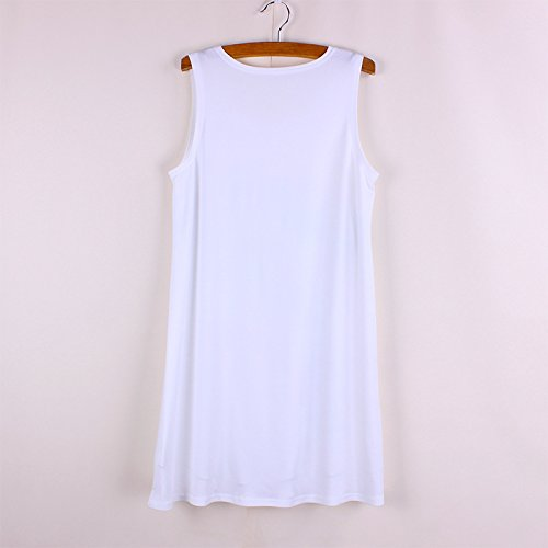 manica donna stampato Acvip fiore shirt Cuore Gilet T Vest rosso lunga 5HwSptqx
