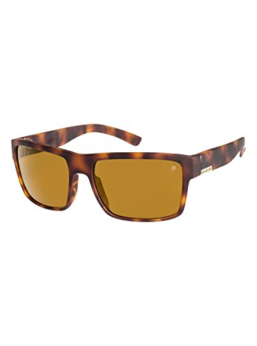 Quiksilver Mens Ridgemont Polarised - Sunglasses For Men Sunglasses Brown One ()