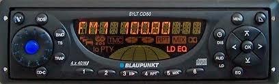 Blaupunkt SYLT CD50 Autoradio Bedienteil