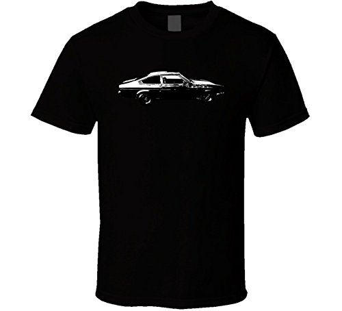2300 Gt 4 Speed B and W Vintage Car Lover Driver Gift T Shirt 2XL Black (Chevrolet Vega Gt)