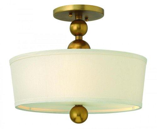 Hinkley 3441VS Three Light Semi Flush product image