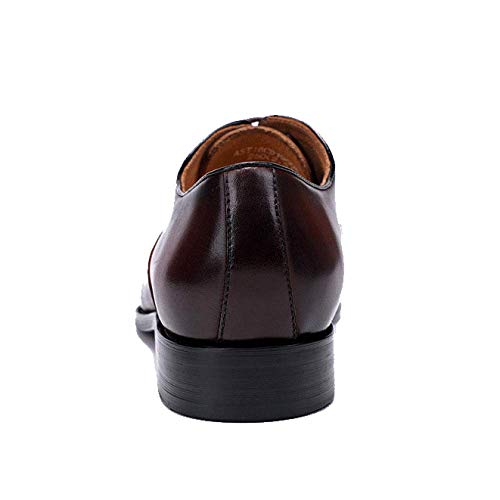 Sposa da Punta Pelle da Versione Lavoro Black Scarpe Europea da in Scarpe Trend da Uomo Scarpe A Uomo nHqPw71