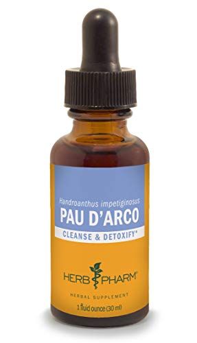 Herb Pharm Pau d'Arco Liquid Extract for Cleansing and Detoxification - 1 Ounce ()