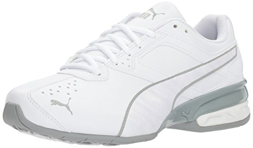 - PUMA Women's Tazon 6 IRI Wn Sneaker White-Quarry, 7.5 M US