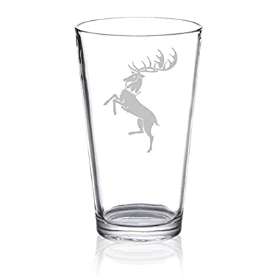 Game of Thrones - Baratheon - Etched Pint Glass