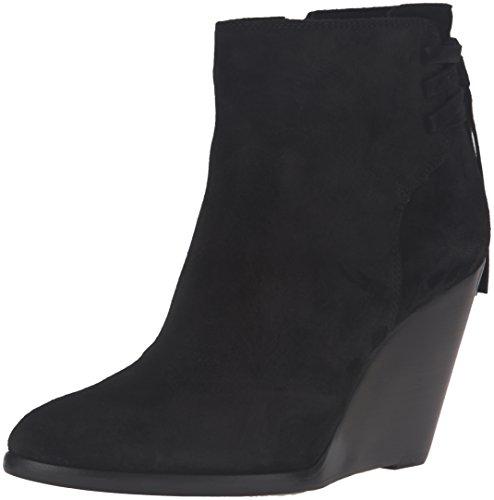 FRYE Women's Cece Tassel Lace Boot, Black, 8.5 M (Lace Suede Wedges)