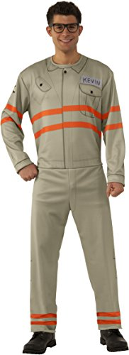 Rubie's Men's Ghostbusters Movie Adult Kevin Value Costume, Multi, X-Large - Kevin Costumes