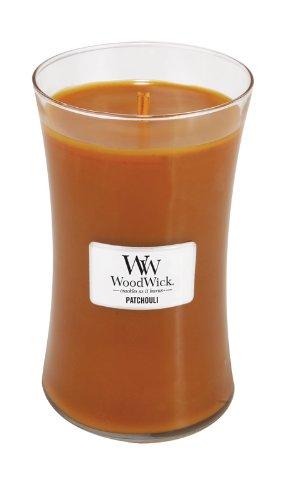 WoodWick Patchouli Fragrance Jar Candle, Large