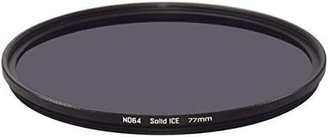 Solid ICE 耐衝撃 77mm ND64 フィルター ニュートラルデンシティー ND 6ストップ 強化光学ガラス