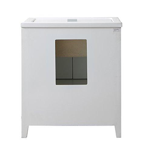 Stufurhome GM-Y01W 30.5-Inch Pure White Single Laundry Sink by Stufurhome (Image #5)