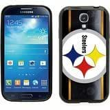 Samsung Galaxy S4 SIIII Black Rubber Silicone Case - Pittsburgh Steelers Football NFL