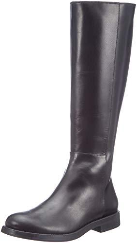 Hautes Flat Hoxton Femme Noir HUGO Bottes 001 Boot c Black pqXnw5d