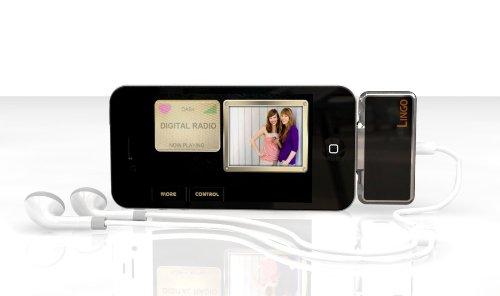 Lingo - iMini Dab, Ricevitore per iPhone 3/3GS, iPhone 4/4S, iPod Touch 4, iPad 3, colore: Nero