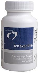 Designs pour la santé - astaxanthine 6 mg. - 60 gélules