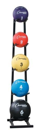 Champion Sports Medicine Ball Tree, Black