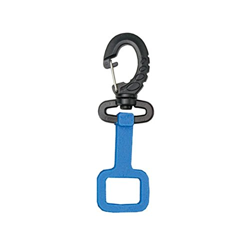 Innovative Rubber Octo-Holder With Clip (Blue)