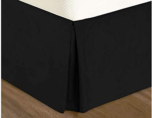 Dust Ruffle Collection - ComfortLife Premium Ultra Soft Luxury Microfiber Pleated Bed Skirt with 15