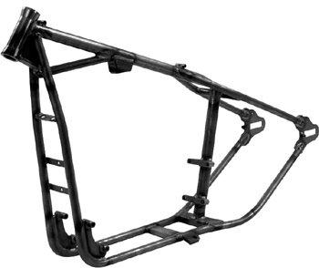 Amazon com: Paughco 20223 Black Custom Rigid Frames for Sportster