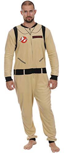 Ghostbusters Mens International Uniform Union Suit Pajama,Men's Uniform Size Large/X-Large