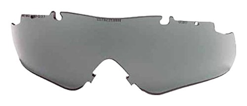 (Smith Optics Elite Aegis Arc/Echo Asian Fit Eyeshield Replacement Lens, Gray )