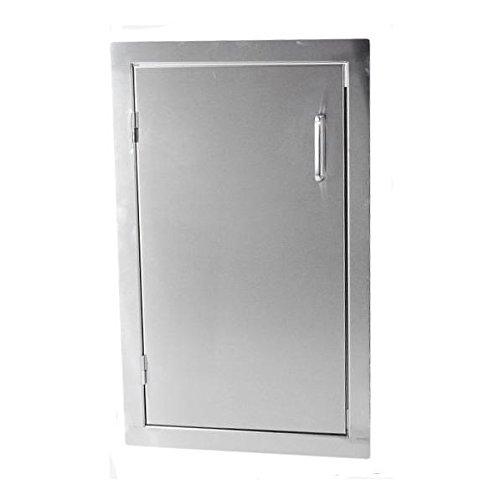 ProFire 14 X 25-Inch Left-Hinged Single Access Door - Vertical - PFLGDOORR