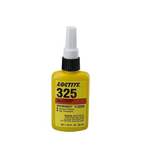 Loctite 32530 325 Speed Bonder Structural Adhesive, High Temperature 50 Ml Bottle