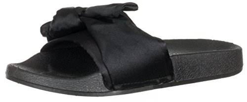 brandsseller Women's Mule Black azFsBn9