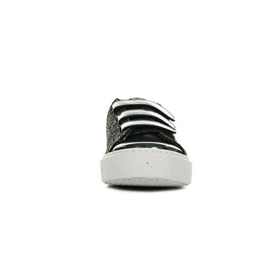 Ginnastica Scarpe Da Noir Glitter Donna Basse Velcros Victoria Deportivo 5qfpqwr