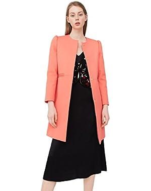 Mango Women's Cotton Coat