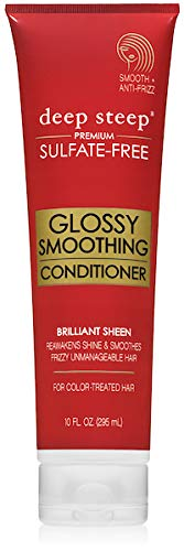 (Deep Steep, Conditioner Glossy Smoothing, 10 Fl)