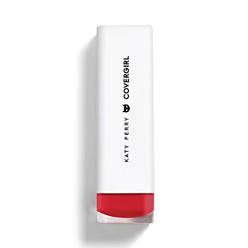 COVERGIRL Katy Kat Matte Lipstick Created by Katy Perry Crimson Cat, .12 oz (packaging may vary)