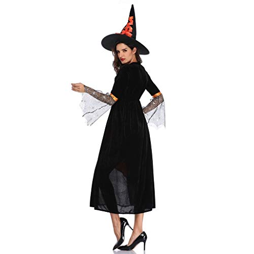 LXJ Traje de Maléfica Fiesta de Halloween Adulto Mujeres ...