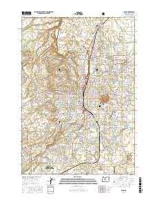 Bend, Oregon topo map by East View Geospatial, 1:24:000, 7.5 x 7.5 Minutes, US Topo, 22.8