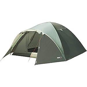 31lHIkBEs%2BL. SS300 High Peak Kuppelzelt Nevada 4, Campingzelt mit Vorbau, Iglu-Zelt für 4 Personen, doppelwandig, wasserdicht…