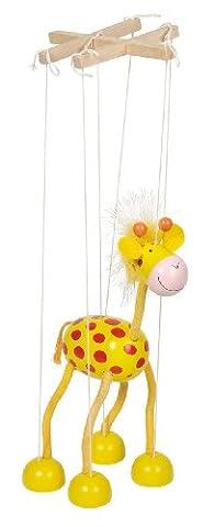 Goki Marionette Giraffe Toy