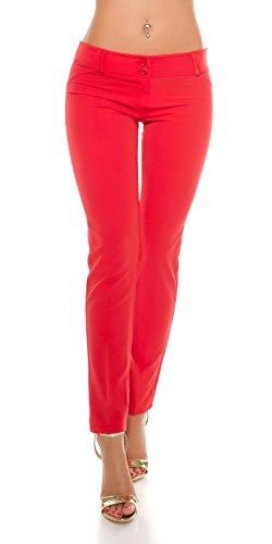KouCla - Pantalón - para mujer Rojo