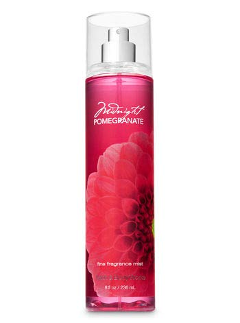 Bath & Body Works Midnight Pomegranate Fine Fragrance Mist 8 oz (New Look)