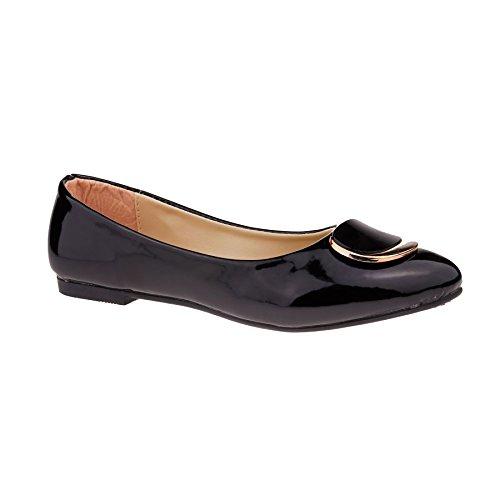 London Footwear - Ballet mujer negro