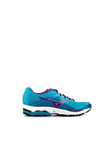 Mizuno Wave Ultima 6–Zapatillas de running para mujer, Carribean Sea / Purple Passion Carribean Sea / Purple Passion