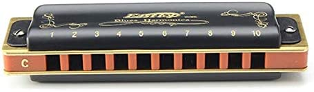 Color : A AJSHGD Easttop T008K 10 Hole Diatonic Blues Harmonica Armonicas Mouth Ogan Woodwind Musical Instrument Melodica