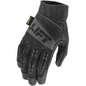 Lift Safety Tacker Anti-Vibe Glove, Black, Leather Palm, L, 1 Pair, GTA-17KKL (GTA-17KKL)