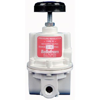 Bellofram 960-131-000 High- Flow Regulators, 3/8'' NPT(F), 0 to 10 psi, 50 scfm by Marsh Bellofram