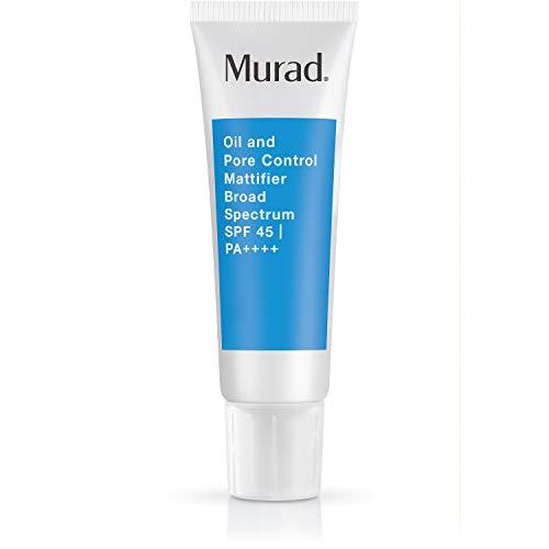 Murad Oil and Pore Control Mattifier Broad Spectrum SPF 45 | PA++++ (Best Moisturizer For Large Pores)
