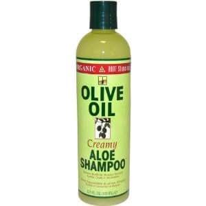Organic Root Stimulator Olive Oil Creamy Aloe Shampoo - 12.5 oz. (Pack of 3)