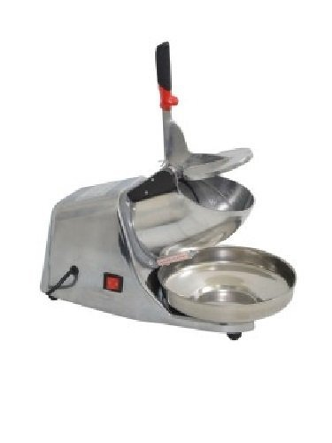 Uniworld Electric Ice Chopper with Anodized Aluminum Casing and Stainless Steel Bowl - Making Snow Cones. Model UCHO-NSP7
