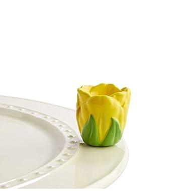 NEW Nora Fleming Tiptoe Through the Yellow Tulips Mini A180