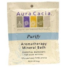 Aura Cacia Mineral Bath, Balancing Sage, 2.5 Ounce by Aura Cacia (Image #1)