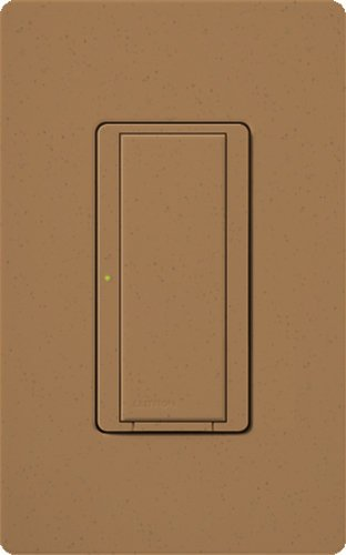 Lutron MRF2-6ANS-TC, Single Pole 6Amp Preset Switch Light Switch, Terracotta by Lutron