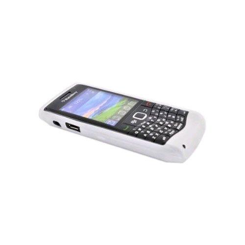 OEM+Blackberry+Silicone+Skin+Case+for+Blackberry+9100+3G,+9105+-+Translucent