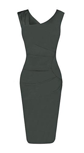 Fancyskin Women#039s Cocktail Dress Sleeveless Slim Bodycon Dress Business Pencil Dress